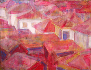 Landscape with Roofs