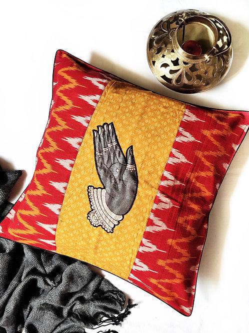 Mystic Mudra Cushion Covers