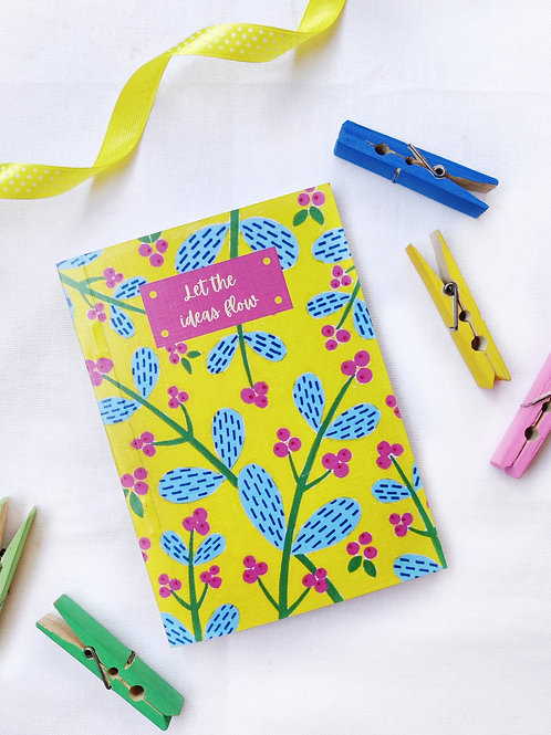 Let The Ideas Flow Pocket Notebook
