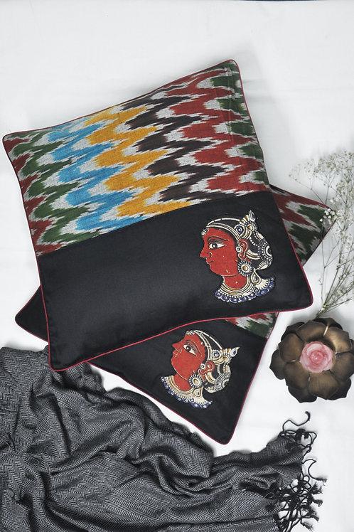 Black Beauty Cushion Covers
