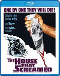 The House That Screamed, Blu ray