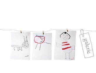 Création textile pièce unique à partir d'un dessin d'enfant! Par Sidonie Bencik.