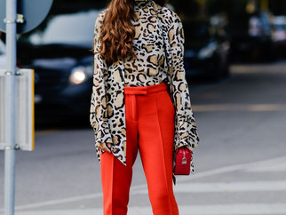 6 formas de usar animal print do street style da MFW