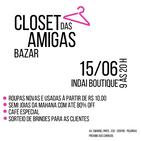 Novo BAZAR: Closet das Amigas!