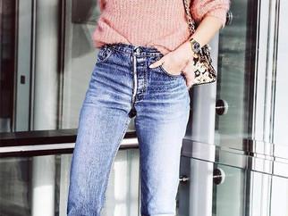 Como usar sua mom jeans no inverno