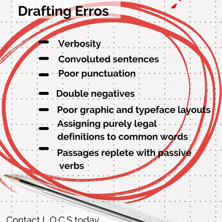 ELIMINATING SPELLING ERRORS, TYPOS AND GRAMMAR MISTAKES IN LEGAL DOCUMENTS, NOTICES AND PLEADINGS.