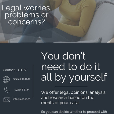 GOT A LEGAL MATTER BUT CAN NOT AFFORD LAWYER – WHAT TO DO
