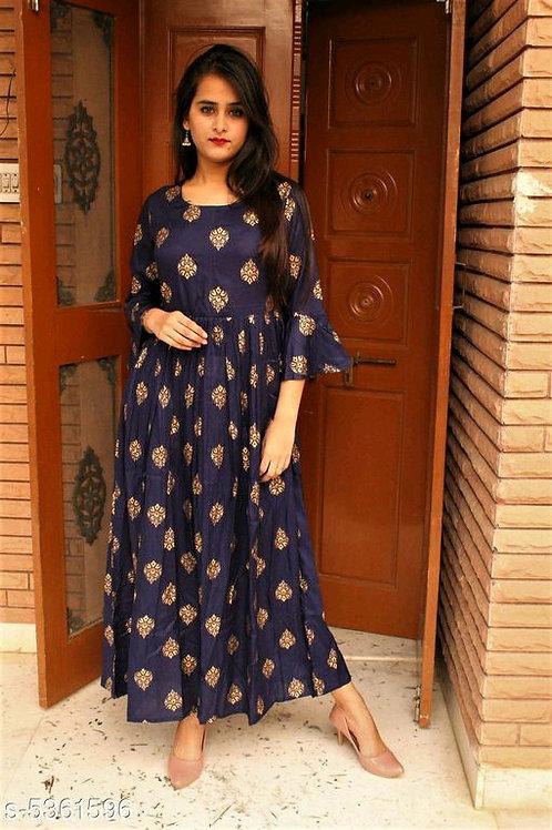 Chitrarekha Fashionable Rayon Women's Dresses