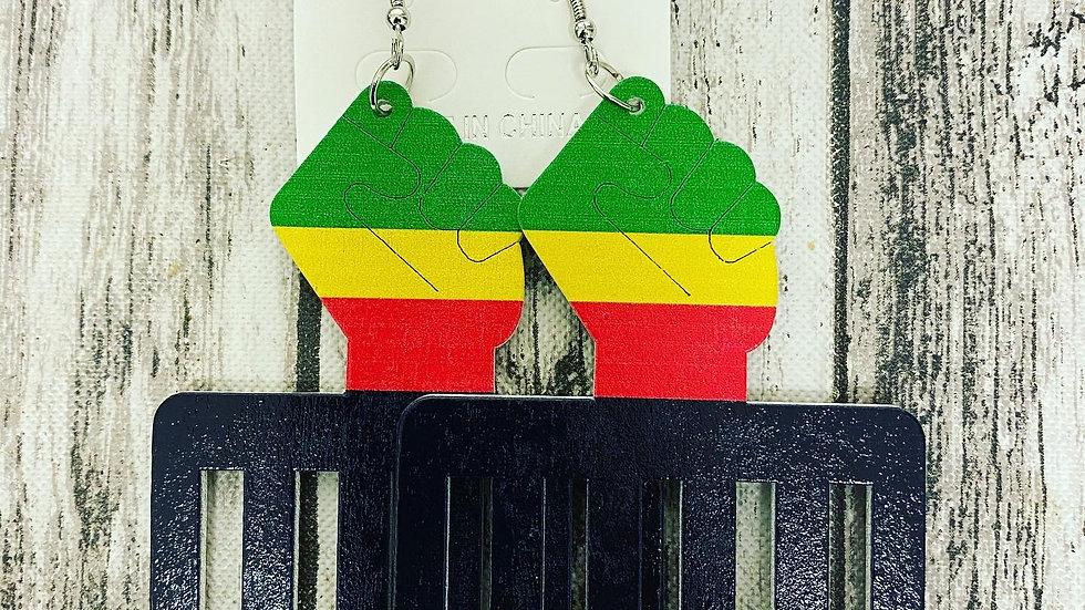 Pick yo a Afro Daddy Earrings