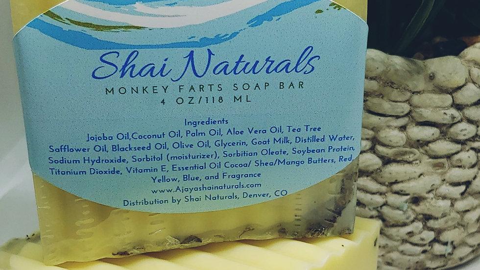 Monkey Farts Soap Bar