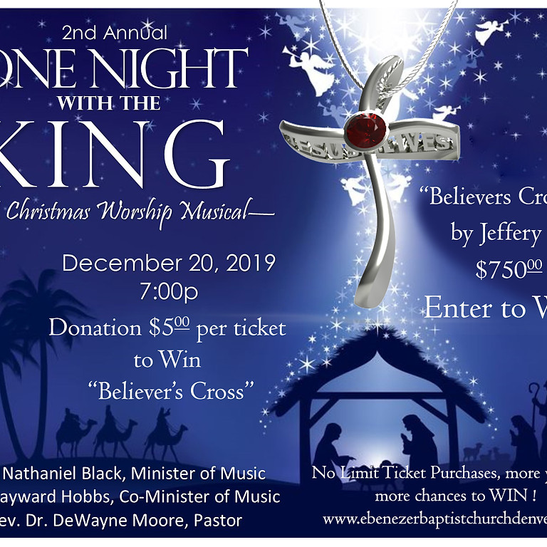 2nd Annual One Night with the King