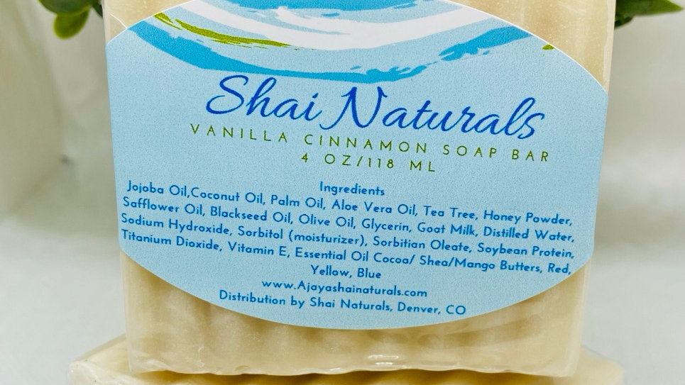 Vanilla Cinnamon Soap