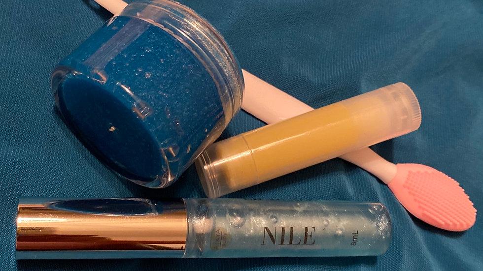 Lip glaze Wand Tube Set