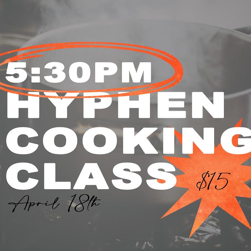 Hyphen Cooking Class