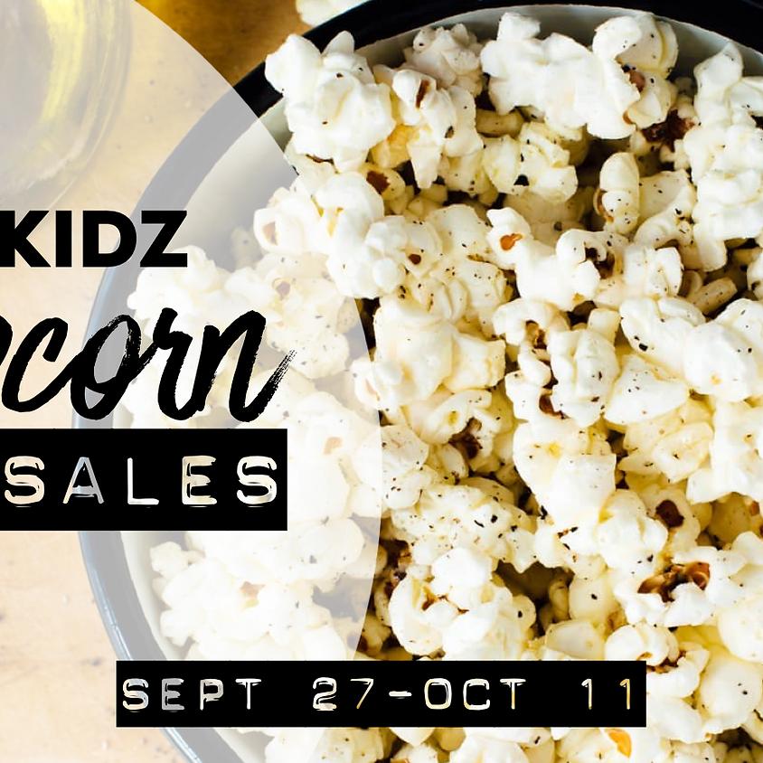 CT Kidz Popcorn Sales