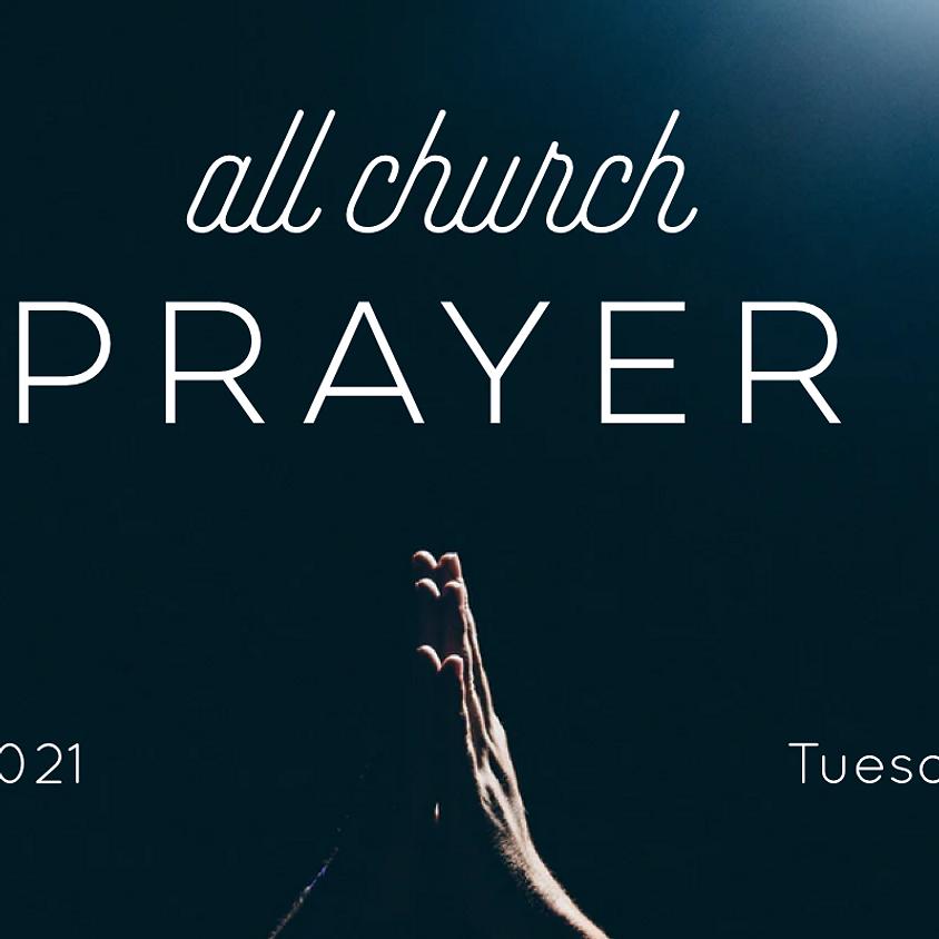 CT All Church Prayer