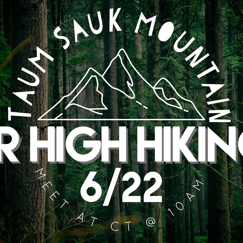 Sr High Hiking Trip