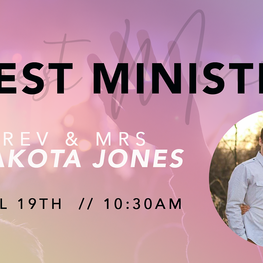 Guest Ministry Special Service