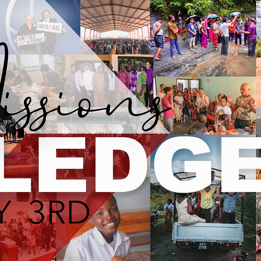 Missions Pledge Service