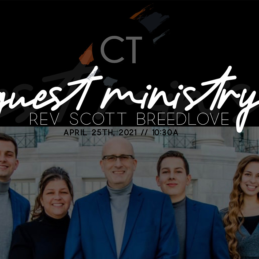 Guest Ministry April 25th