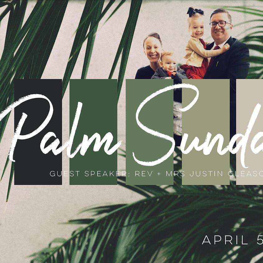 Palm Sunday Special Service