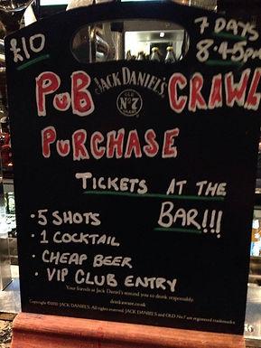 A Night with Scotland's N01 Must do Pub Crawls
