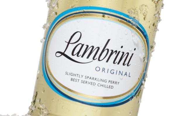 DON'T DRINK AND DRIVE… Lambrini
