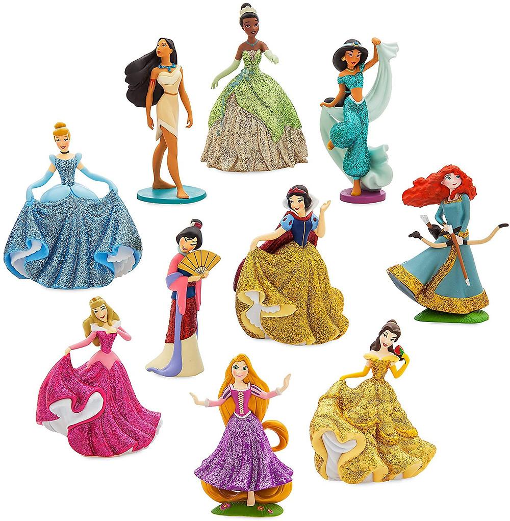 Disney Princess in one deluxe set