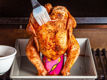 The All-Powerful Beer-Can Chicken