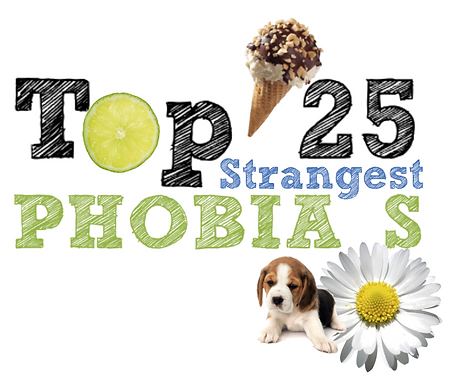 World's 25 Top Strangest Phobia's