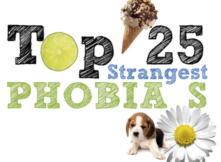 World's 25 Top Strangest Phobia's