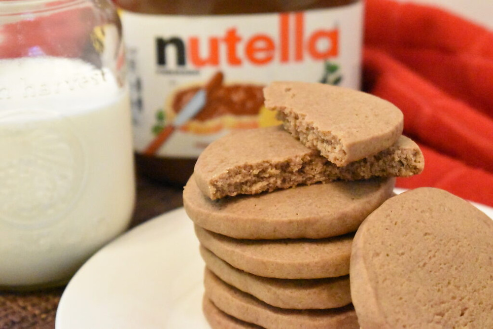 Delicious Chewy Nutella Cookies