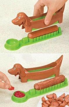 Hot dog cutter