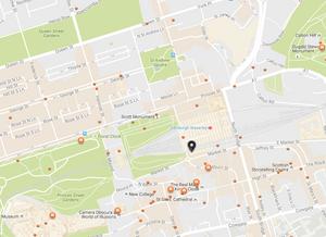 Edinburgh Dungeon MAP