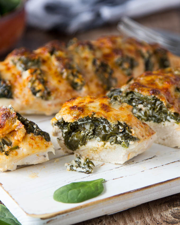 SPINACH + GOAT CHEESE HASSELBACK CHI