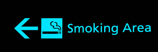 airports you can smoke at