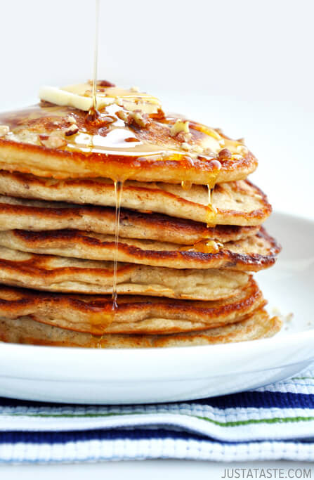 Banana Nut Pancakes! UNIQUE