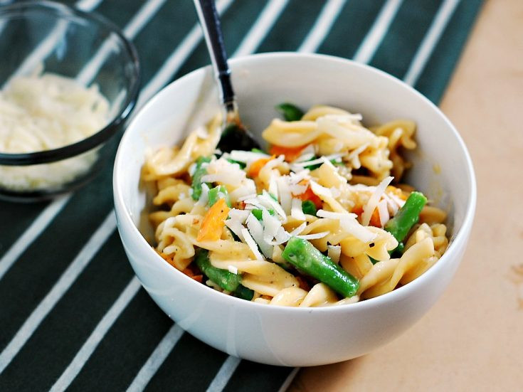 Spring Vegetable Carbonara