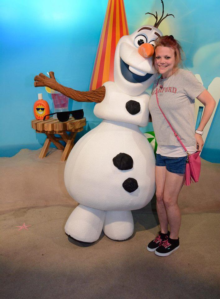 Meeting Olaf!