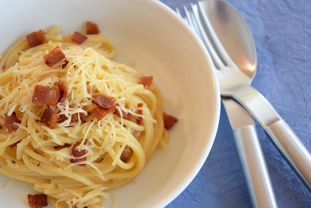 Smoked Gouda Carbonara