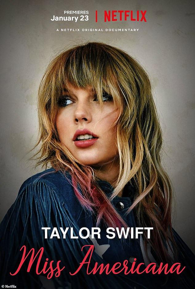 Taylor Swift. (Taylor Swift: Miss Americana) Netflix Documentary