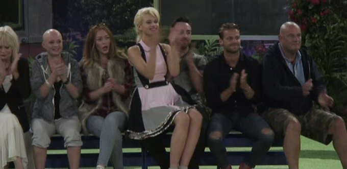 Chloe-Jasmine Wears nicci.n. on Celebrity Big Brother!