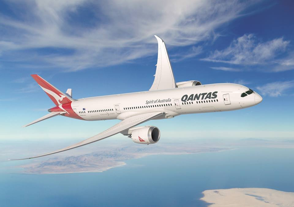 Qantas launches direct non-stop Boeing 787 Dreamliner flights