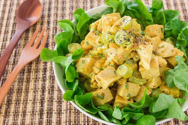 Weight Loss Recipe: Curried Chicken & Mango Salad