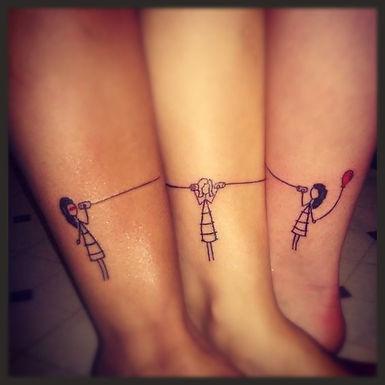 Awesome Friendship Tattoo Ideas