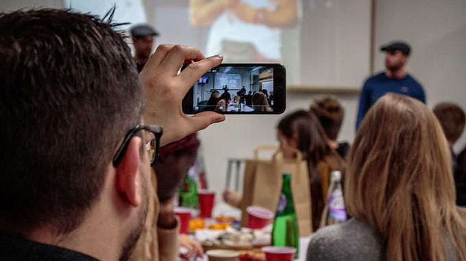 Edinburghs First Vlogging Workshop