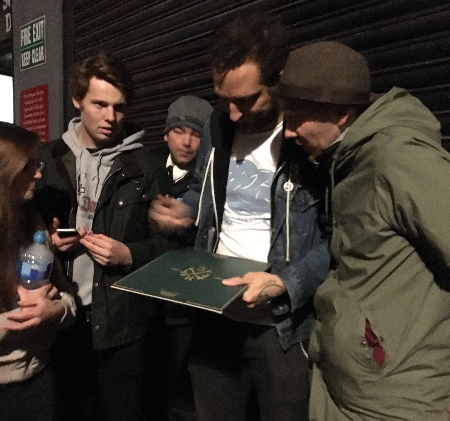 After show signing