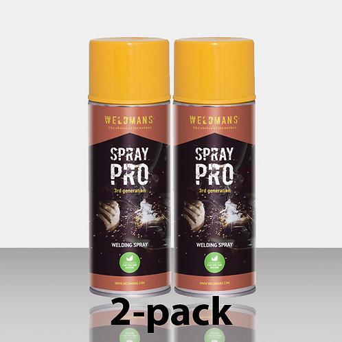 Weldmans Spray Pro - 2 pack