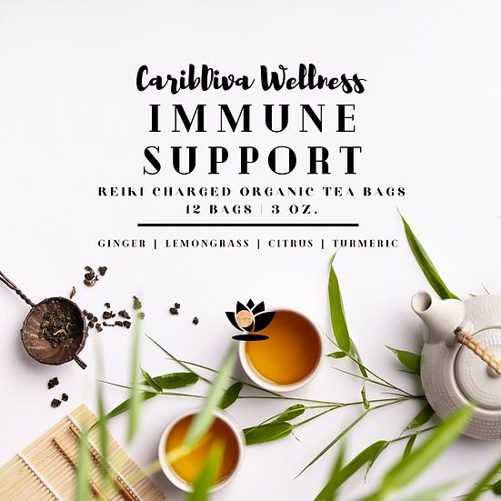 Immune Support Reiki Charged Organic Tea