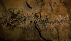 Chauvet Cave Sepia